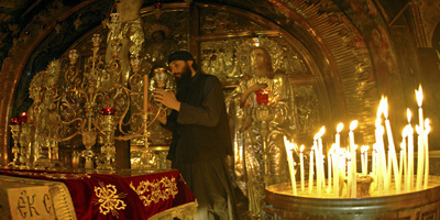 the Church of the Holy Sepulcher: The old city