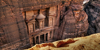 Tours to Petra from Israel: The Treasury