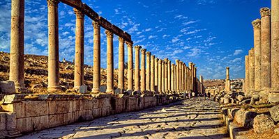 Tour to Jarash from Amman