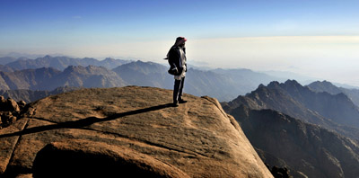 Hiking and camel tours in the Sinai's High Range
