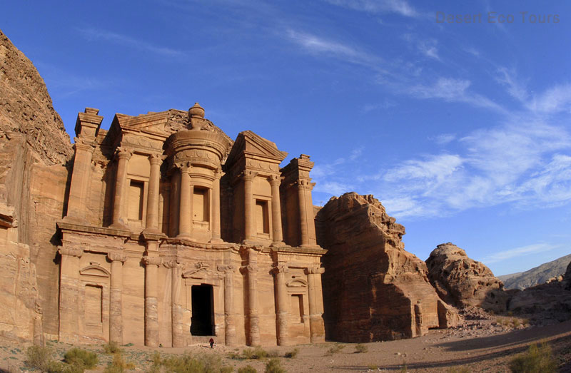 Tours to Petra from Israel, the Monastery
