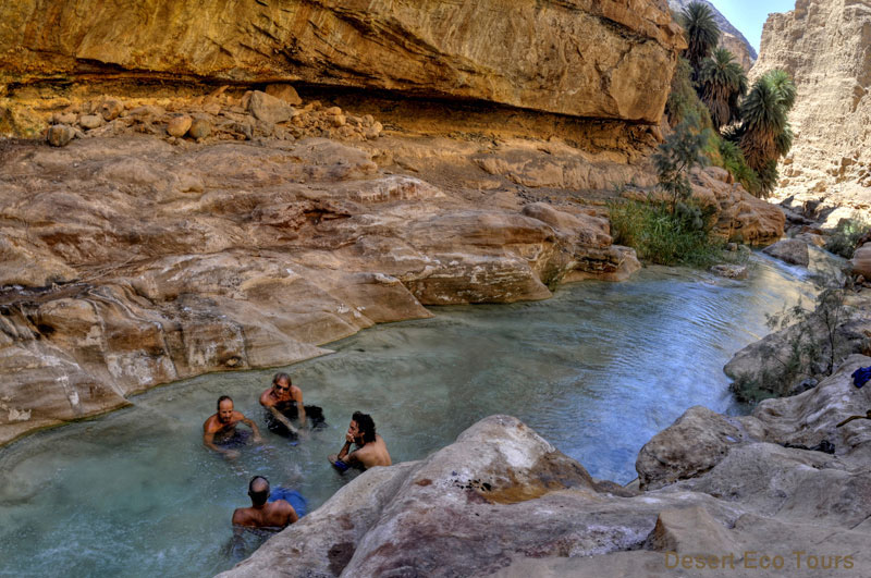 The canyons of the Dead Sea: Jordan