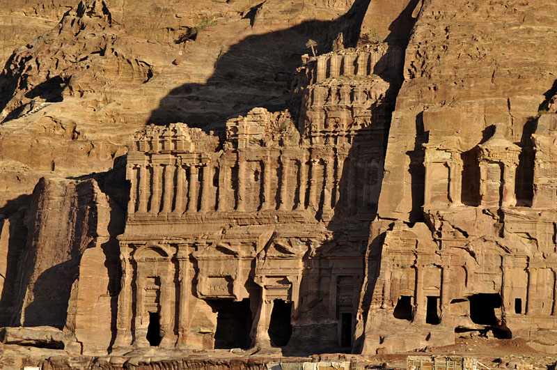 Visiting tours to Royal tombs- Petra
