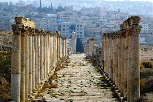 Tours to Jerash and Amman