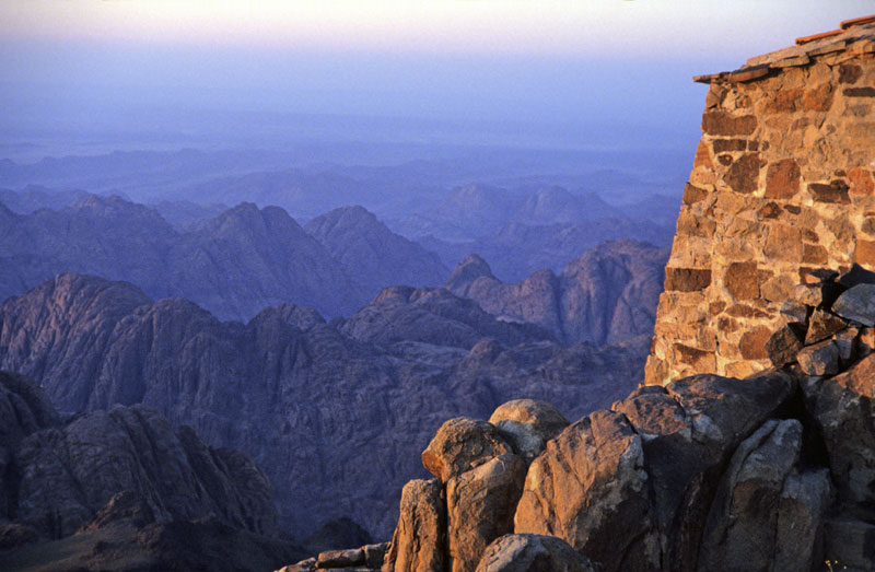 Sunrise from Mount Sinai Egypt