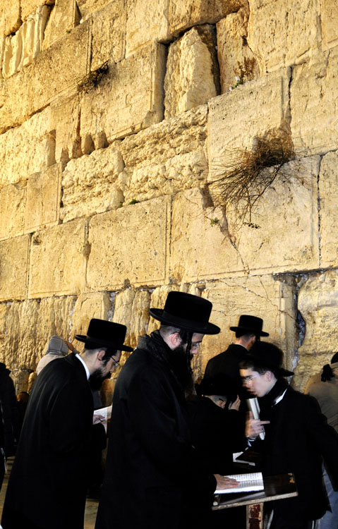 The Western Wall, the Jewish quarter