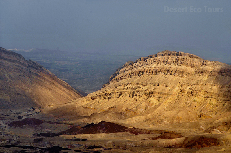 The Small Crater- Negev desert, Israel